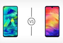 Samsung Galaxy M40 VS Xiaomi Redmi Note 7 Pro